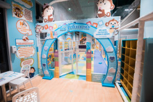 Branded play area